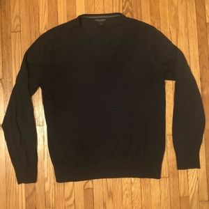 Banana Republic luxury blend sweater, navy, mens L